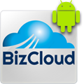 biz cloud business android app logo