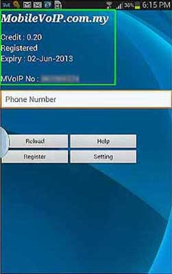 mobile voip androip app features